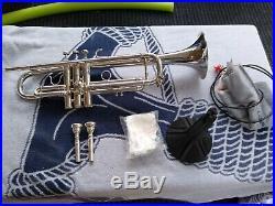 Benge Resno #4 Silver Trumpet