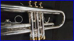 Berkeley Silver Bb Trumpet WithDH2 Mouthpiece (Monette Style)