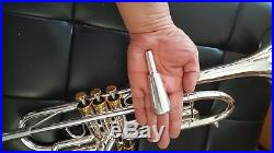 Berkeley Silver Bb Trumpet withD2H MP (Monette Style)