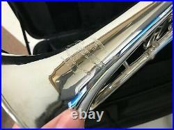Besson 3 Valve Silver Plated Flugelhorn