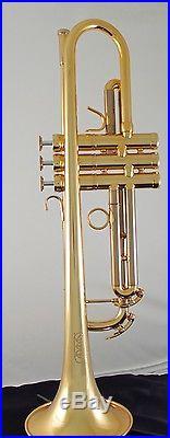 Brand New Adams Austin Custom Brass Professional series Trumpet in gold lacquer