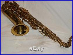 Buescher 400 Tenor Saxophone, Top Hat & Cane, Snaps, Norton Springs, Plays Great