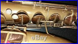 CG Conn 1921 New Wonder I Tenor Saxophone Body Painted Straight Holes