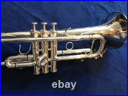 Calicchio Hollywood C Trumpet rare short bell in excellent condition