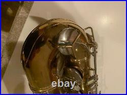 Cg Conn Elkhart 10m Naked Lady Tenor Saxophone Original Lacquer