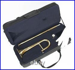 Cherrystone Kinder Posaune Zugtrompete Trompete Posaune mit Koffer und Zubehör