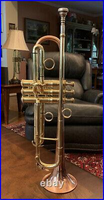 Conn 12B Coprion Vintage 1940 Bb Trumpet, Case, Mouthpiece, Taylor Phat Rings