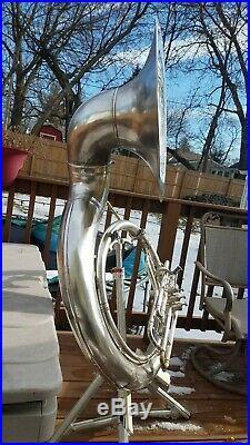 Conn 20k sousaphone silver