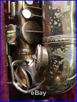 Conn 6M VIII naked lady Saxophone 1940