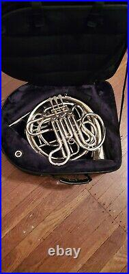 Conn 8DS Nickel Silver Professional double French Horn with screw-off bell