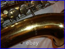 Conn Pan American 10m-Style Tenor Sax/Saxophone, Good Pads, Plays Great