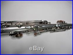 Conn Silver Plated C Soprano Saxophone #118xxx