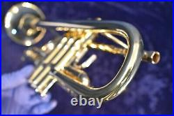 Custom Vincent Bach Stradivarius Model 37 Trumpet in C(229 with37 bell) withCase, Mpc