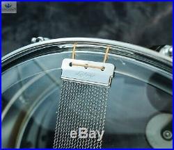 Cut Badge/b-stamp! Ludwig Artist Model Vintage Lm406 Cob Supraphonic Snare