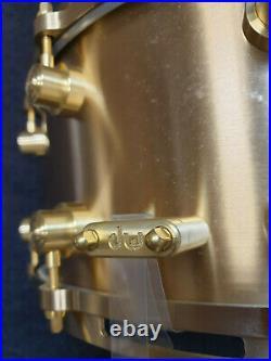 DW Snare Drum Bell Brass 14x6.5 Cast Bronze Snaredrum USA / Rullante