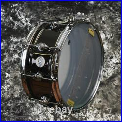 DW Snare Drum Design Series 6.5x14 Black Nickel Over Brass Shell DDSD6514BNCR