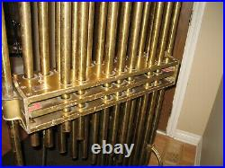 Deagan Chimes, Tubular Brass Bells, Original Vintage Beautiful tone/operation