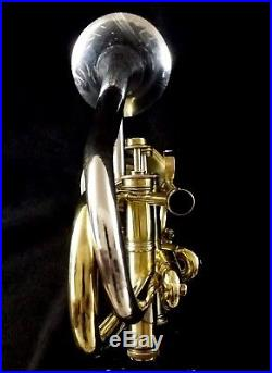 Double Bb Trumpet Bell Selmer K-Modified 24B and Conn Vocabell Extra Large Case