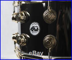 Drum Workshop 14x8 Collectors Series Black Nickel Over Brass Snare Drum