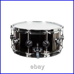 Drum Workshop Black Nickel Over Brass 6.5x14 Snare Drum