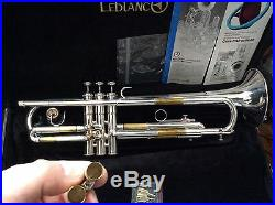 $EPT. $ALE! AWESOME MINT L BORE JAZZ MARTIN COMMITTEE T3465 SILVER Bb TRUMPET