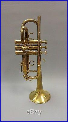E Benge Eb / D Trumpet 1963 Burbank California