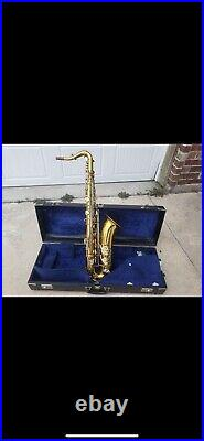 Excellent King Super 20 Tenor Saxophone with Case 1974