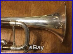 Excellent Silver Bach Stradivarius Trumpet #37 Great condition, Fast valves