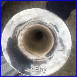 F. E. Olds Vintage Silver Trombone 1795 m. 1920 Medium. Bore