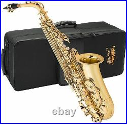 Factory Refurbished Jean Paul AS400 Student Alto Saxophone with Carrying Case