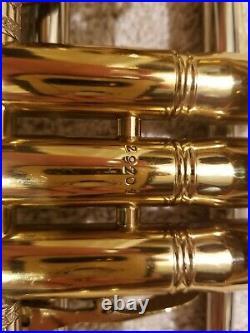 G Leblanc Paris pro trumpet vintage very rare
