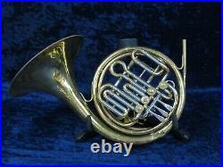 Getzen Double French Horn Ser#55718 Plays Well