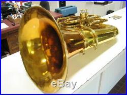 Good KING model 2341 BBb 4-valve concert tuba