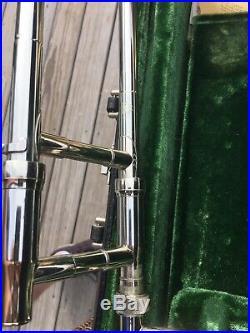 Great Vintage King SilverSonic 3B Concert Trombone Sterling Silver
