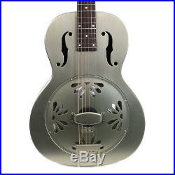 Gretsch G9201 Honey Dipper Round-Neck Metal Resonator Guitar Demo