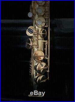 HENRI SELMER Mark VI Soprano saxophone Original Laquer