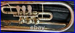 Heckel B Trompete Dresden Deutsche Drehventiltrompete- guter Zustand ohne Etui