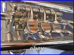 Heckel BbTrumpet Dresden Germany, Probably from the year1939 vintage, very rare