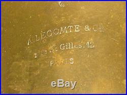 Historic, very old OPHICLEIDE, predecessor of tuba, for repairA. Lecomte Paris