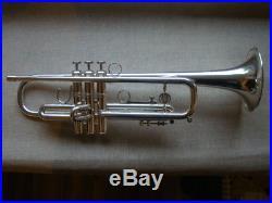 Holton ST302 MF Maynard Ferguson Large Bore 0.468`` trumpet GAMONBRASS case