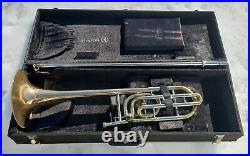 Holton Tr-158 Trigger Slide Tenor Trombone With 9 Inch Rose Brass Bell