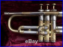 JANUARY $ALE L BORE $ MARTIN COMMITTEE #3 VINTAGE 40s COOL JAZZ #16xxxx TRUMPET