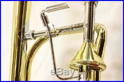 Jupiter XO Model 1236L-T. 547 Bore Trombone THAYER VALVE DISPLAY MODEL
