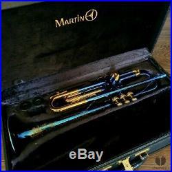 KIND OF BLUE! Martin Committee T3460, original case GAMONBRASS trumpet