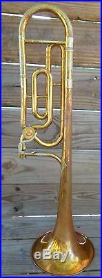 King Model 2125 Rotor Trombone 3b+