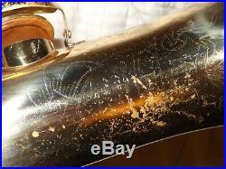 King Zephyr Tenor Saxophone #454XXX, Plays Great
