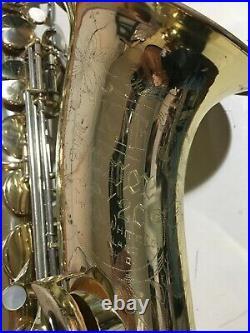King super 20 tenor saxophone 1957 classic beast