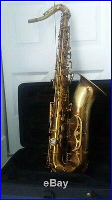 King zephyr tenor saxophone, 319, XXX