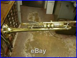 L. A. Olds Super trumpet 1930's Vintage