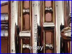 Leblanc Paris D Trumpet Vintage Original Condition